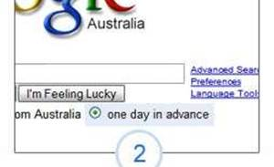 Google g'Days April 1 with predictive search