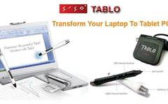 Alepine Peripherals converts notebooks to tablet PCs with Tablo