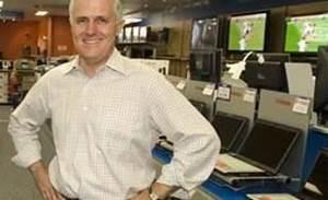 Turnbull: Rudd is building a new Telstra