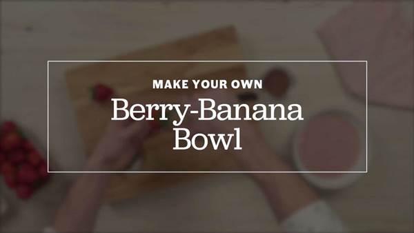Berry Banana Bowl