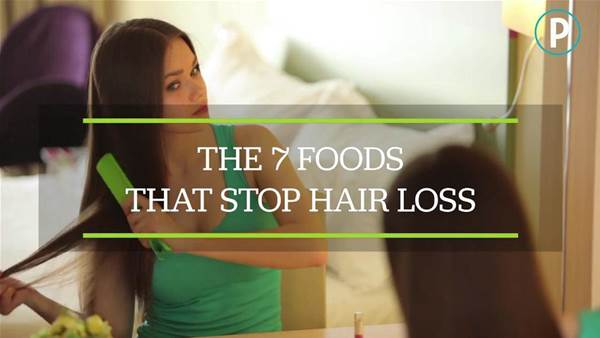 The 7 Foods That Stop Hair Loss