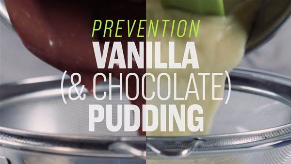 Vanilla and Chocolate Pudding