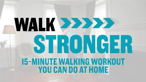15-Minute Walking Workout You Can Do At Home