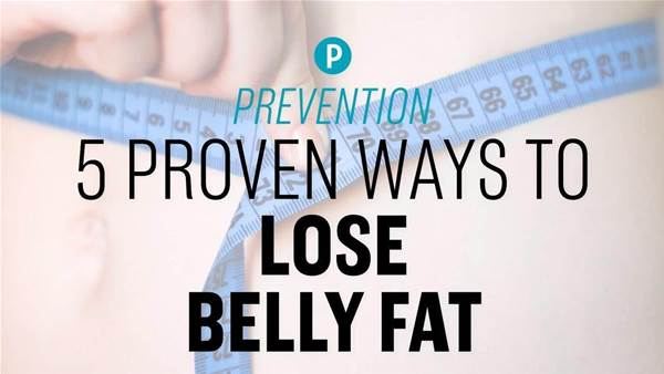 5 Proven Ways To Lose Belly Fat