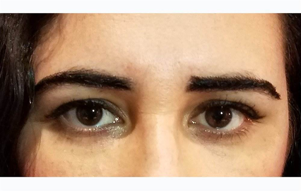 I Tried Wearing Eyebrow Wigs And Here's What Happened