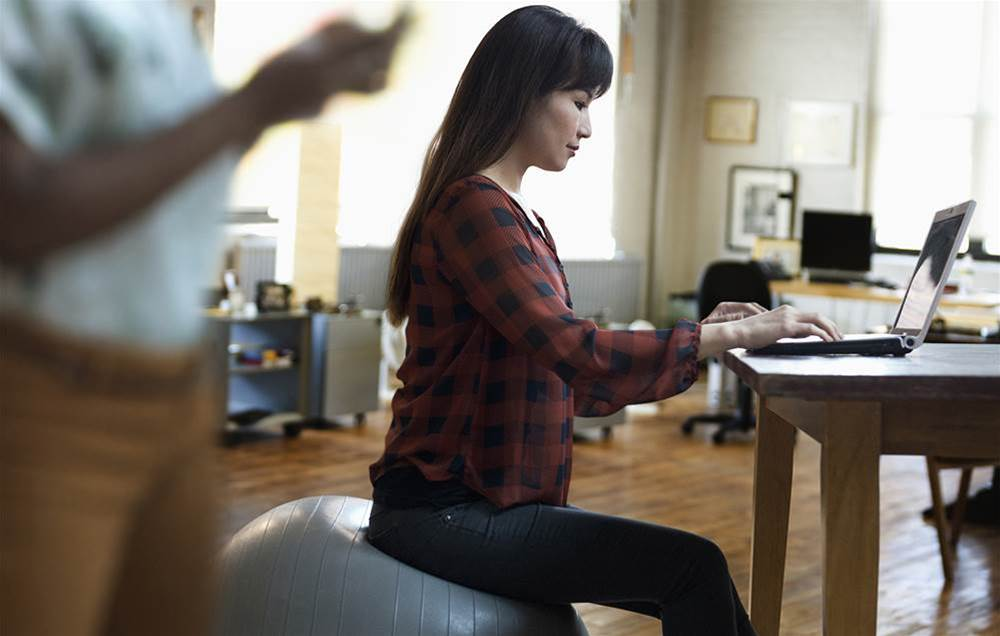 Should You Swap Your Chair For An Exercise Ball?