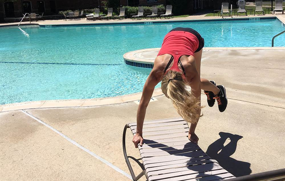 Try This Total-Body Pool Workout To Burn Fat Faster