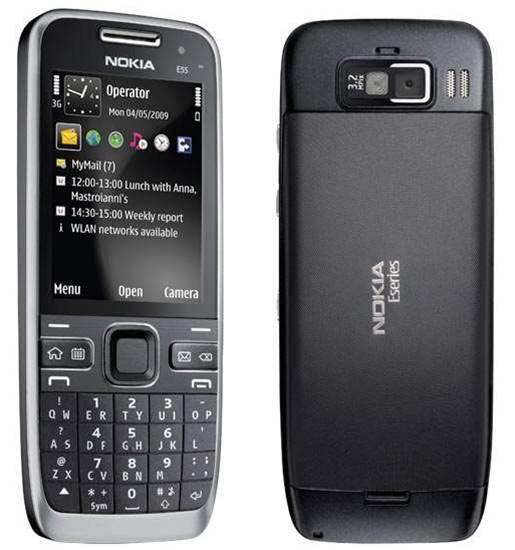 Nokia's E55 boasts impressive 6-day battery life
