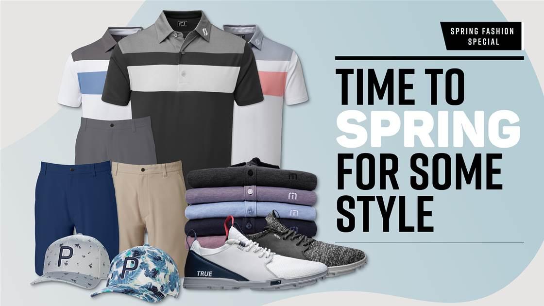 Spring Fashion Special Golf Australia Magazine