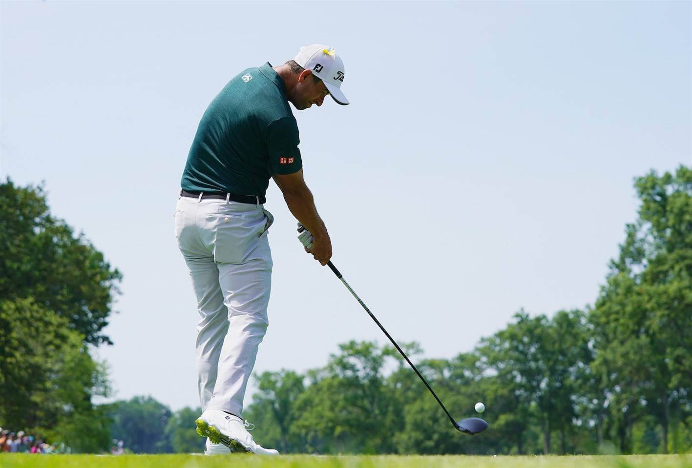 d3b0ed9b9693 Adam Scott s impressive display with the driver has filtered through the  rest of his game. PHOTO  Getty Images.