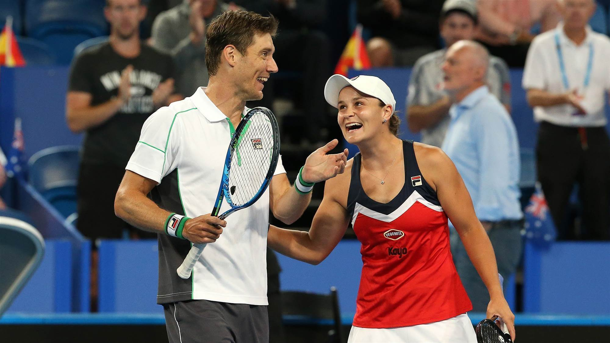 Hopman Cup Final Within Reach Tennis The Women S Game For The