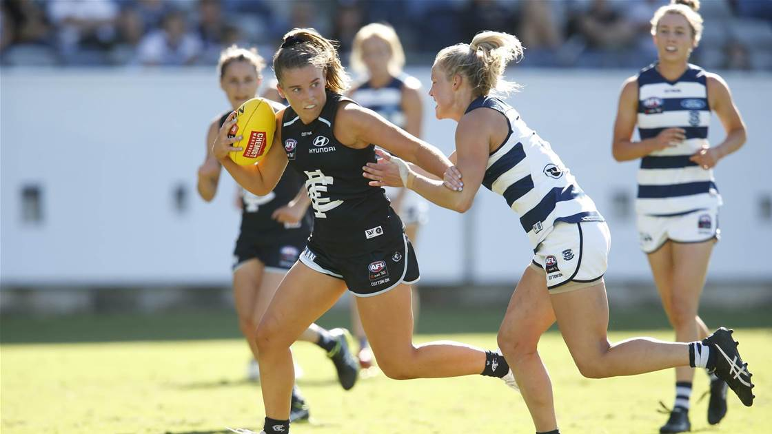 McKay makes history with debut - AFL - The Women's Game