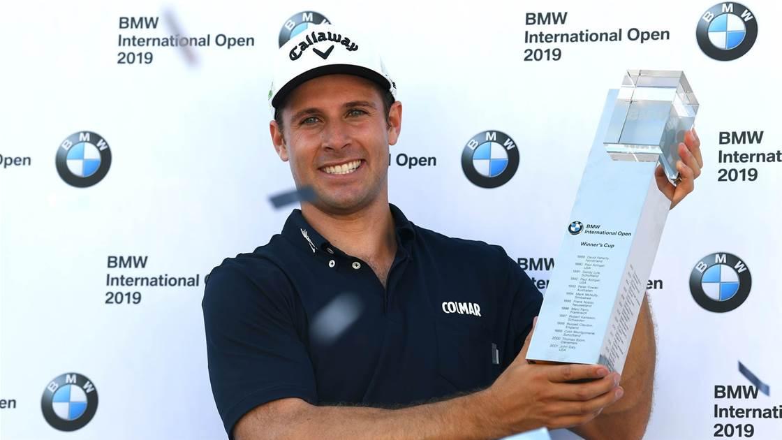 Pavan Claims Bmw International Open Golf Australia Magazine