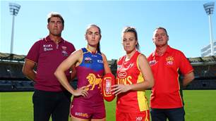 Lugg welcomed to den - AFL - The Women's Game - Australia's