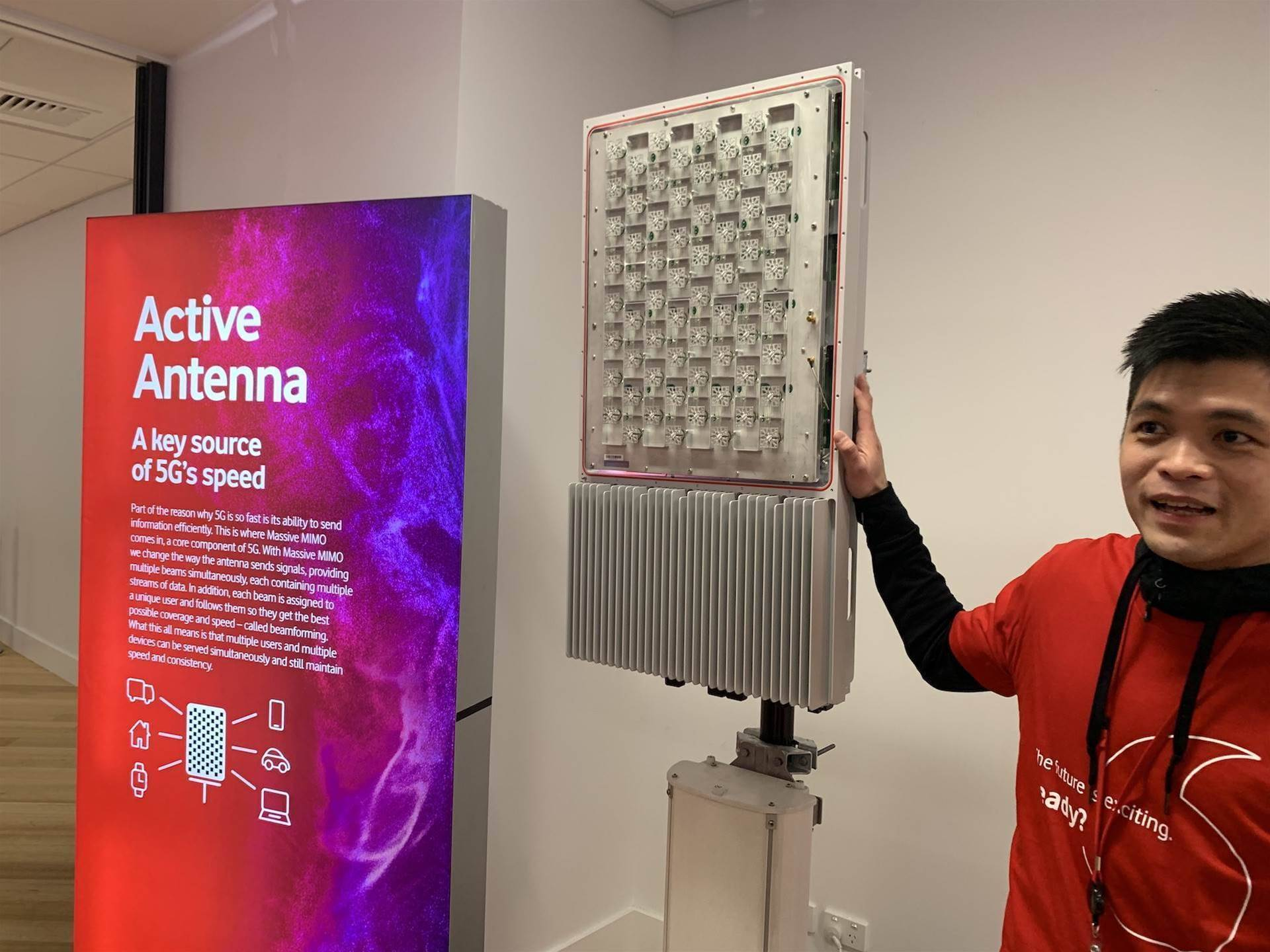 Vodafone NZ to launch four-city 5G service in December