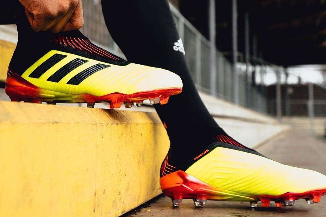 hot sale online 6030d 5559a adidas unveil stunning Energy Mode Predator 18+ - Boots - FT