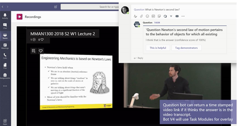 UNSW adds Question bot to online classroom for engineering