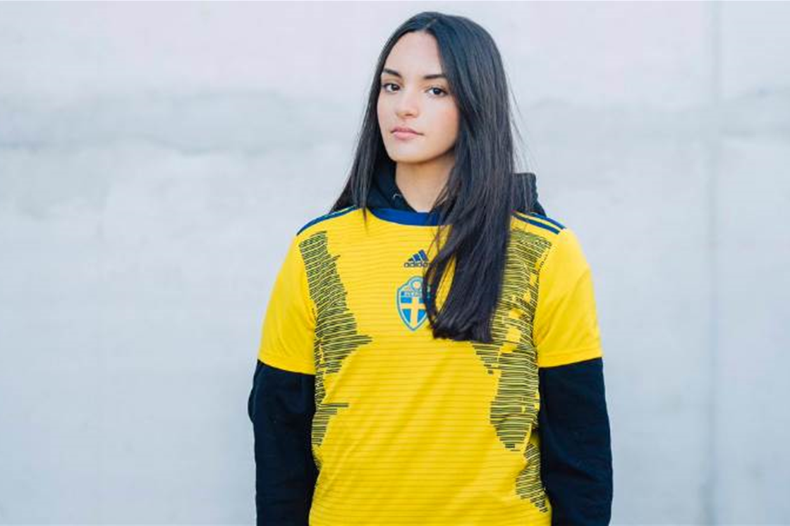 85e105347f7 adidas unveil Sweden's World Cup kit for International Women's Day ...