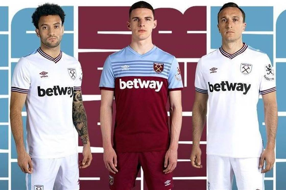 015f3b695 West Ham's 2019-20 home and away kits revealed! - Gear - FTBL Life