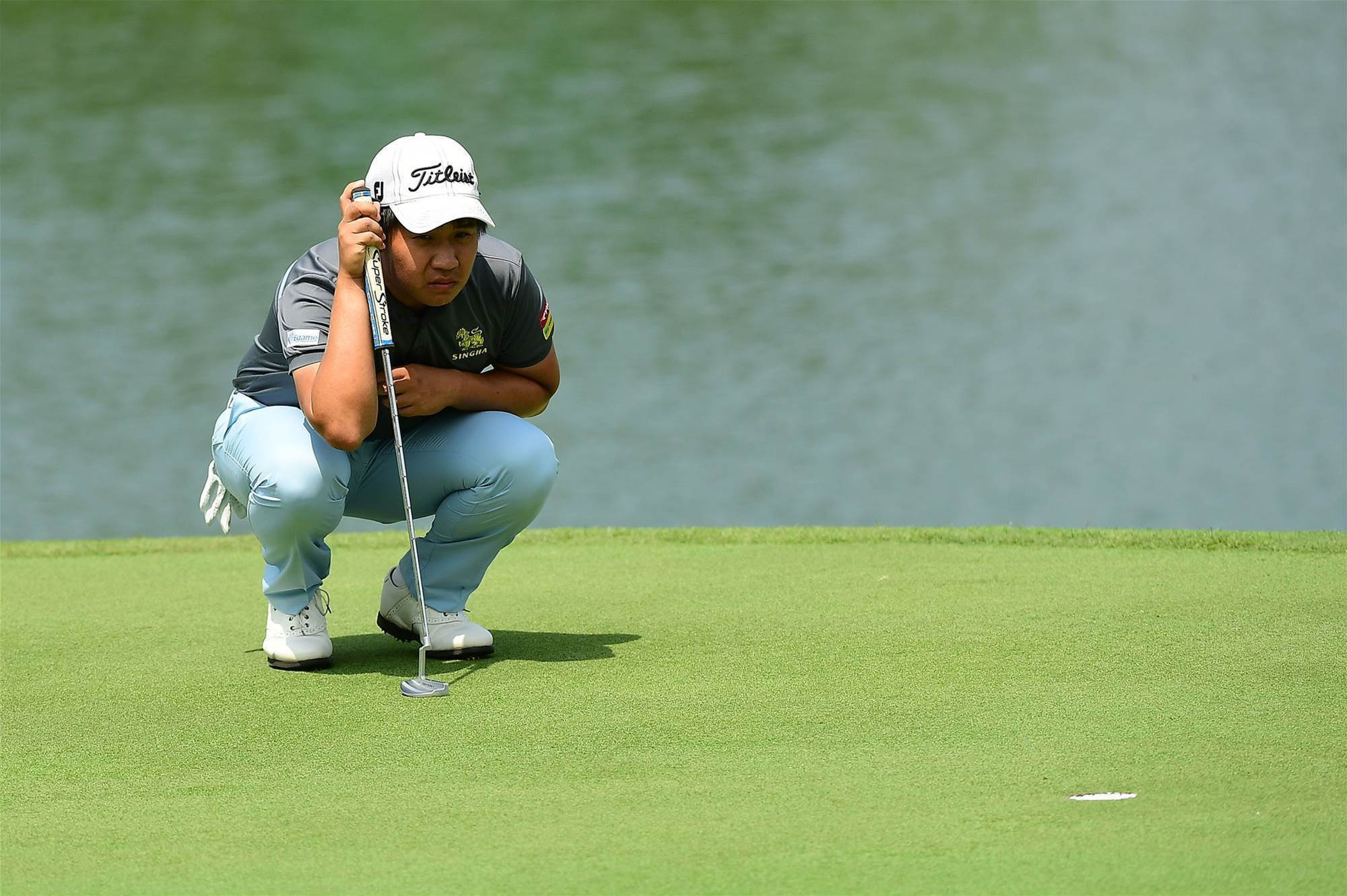 Poom Saksansin will be hoping his good 2018 form continues at the season's  opening event. PHOTO: Asian Tour.