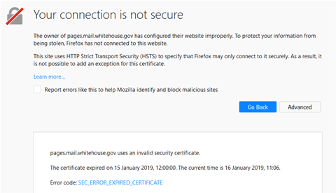 US  gov sites dropping like flies as certs expire - Security