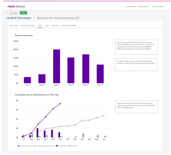 MYOB Essentials review: simple but sophisticated - Services