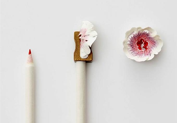 Pencil Shaving Flowers Art Frankie Magazine Australian Fashion Magazine Online