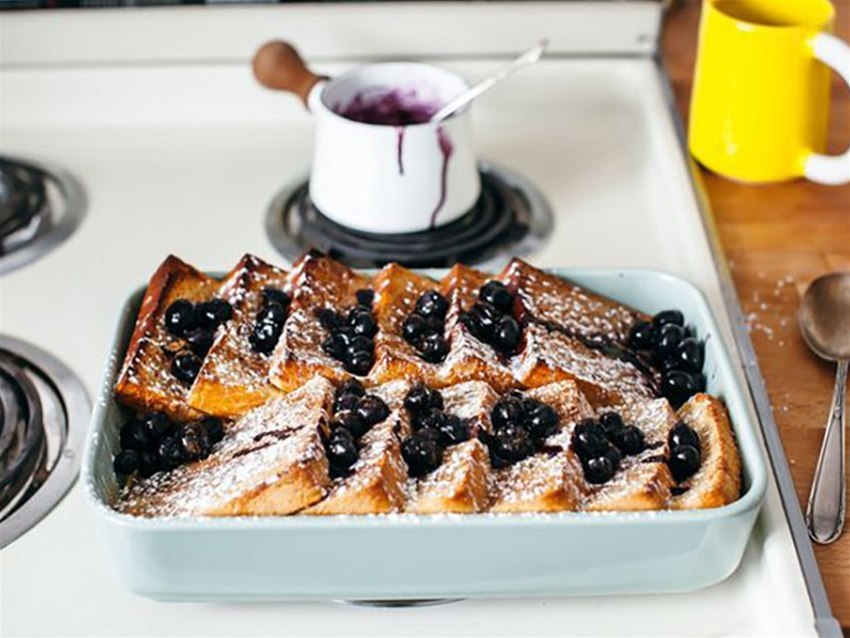 Baked French Toast Food Frankie Magazine Australian Fashion Magazine Online