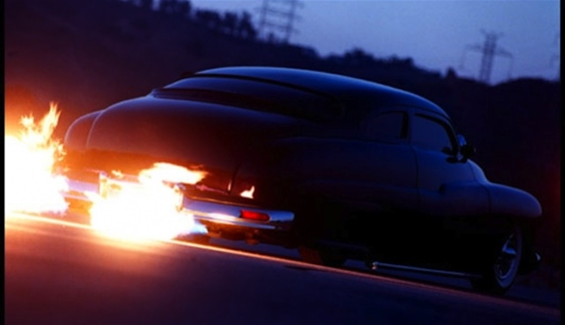 Flames & Car Exhaust Pipes – K-Zone