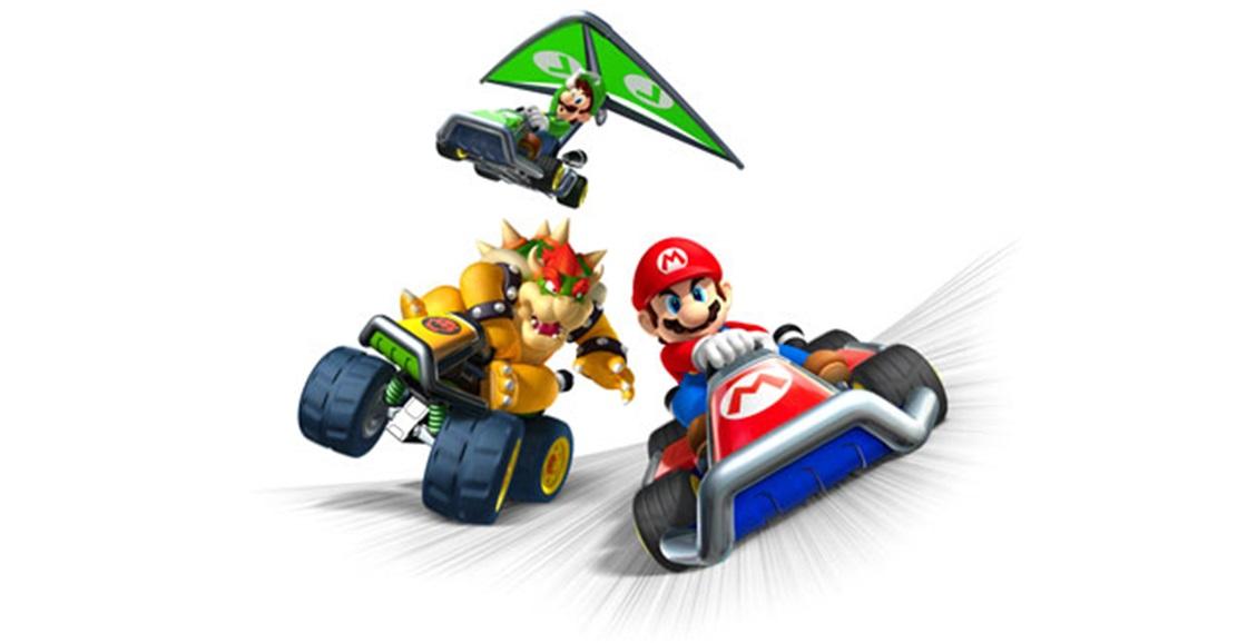 Game Ninja Unlock Mario Kart 7 Characters K Zone