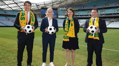 Australia's hosting foreign cricketers. If the Socceroos can't host home World Cup qualifiers, there'll be trouble
