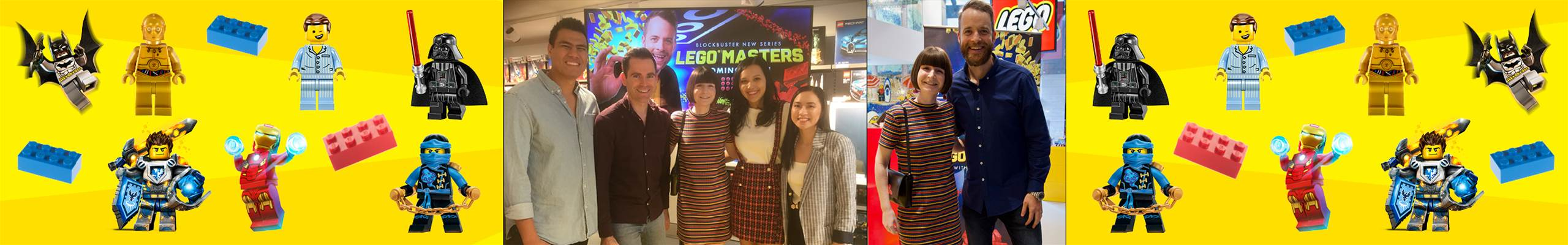 MEETING LEGO MASTERS