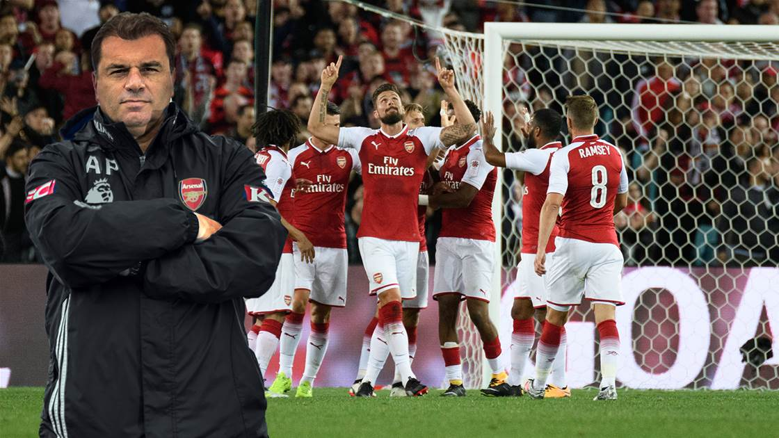Could Ange Manage Arsenal?