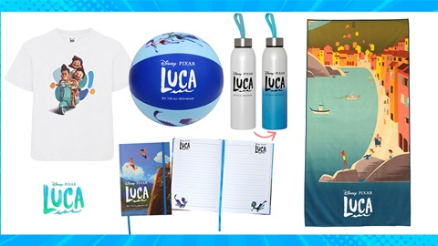 TOTAL GIRL JUL'21 A LUCA MOVIE MERCH PACK GIVEAWAY