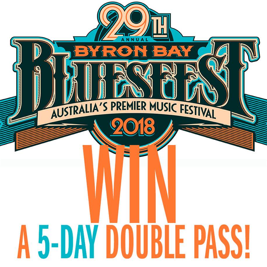 WIN a Bluesfest double-pass for the full 5 days!