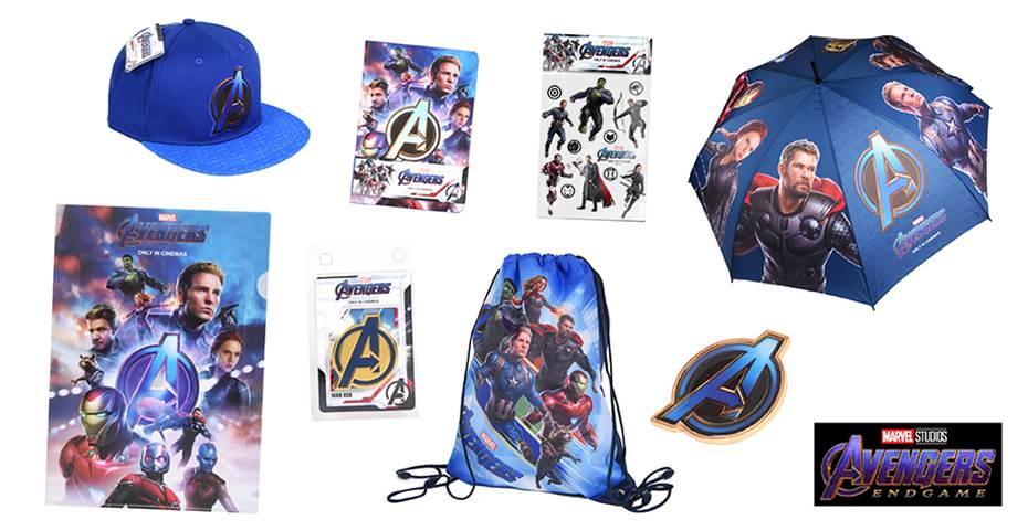 K-ZONE MAY'19 AVENGERS: ENDGAME MOVIE MERCH PACK GIVEAWAY