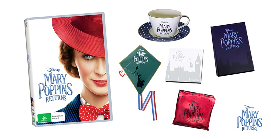 K-ZONE MAY'19 MARY POPPINS RETURNS DVD PRIZE PACK GIVEAWAY