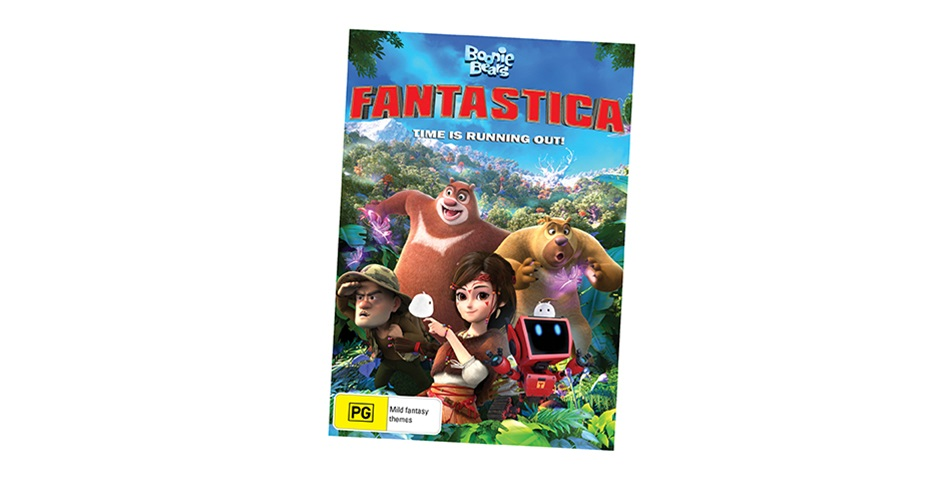 K-ZONE MAY'19 BOONIE BEARS FANTASTICA DVD GIVEAWAY
