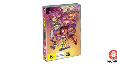 K-ZONE FEB'20 OK K.O.! SEASON 1 DVD GIVEAWAY