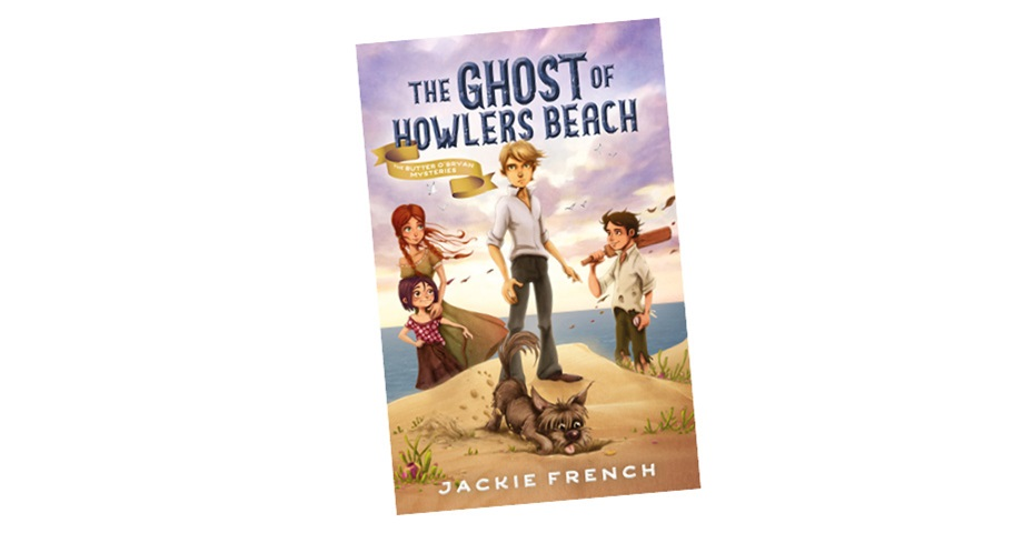 K-ZONE MAR'20 THE GHOST OF HOWLERS BEACH BOOK GIVEAWAY