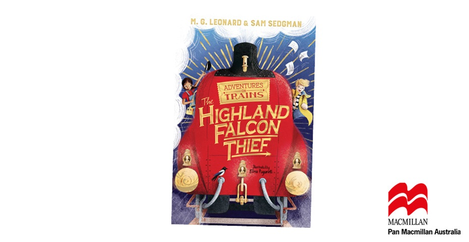 K-ZONE MAR'20 ADVENTURES ON TRAINS: THE HIGHLAND FALCON THIEF BOOK GIVEAWAY