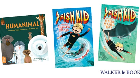 K-ZONE MAR'20 FISH KID AND HUMANIMAL BOOK PACK GIVEAWAY