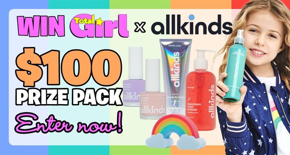 TOTAL GIRL $100 ALLKINDS PRIZE PACK GIVEAWAY