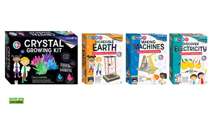 TOTAL GIRL APR'21 CURIOUS UNIVERSE PRIZE PACK GIVEAWAY