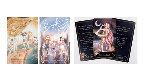 TOTAL GIRL APR'21 BEING BRAVE TOO BOOK PACK GIVEAWAY