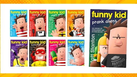 TOTAL GIRL MAY'21 FUNNY KID BOOK PACK GIVEAWAY