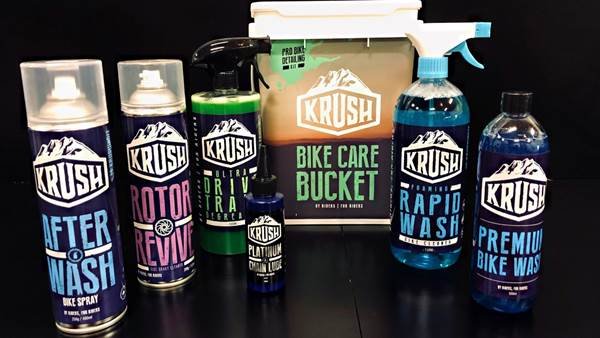 Clean up with Krush!