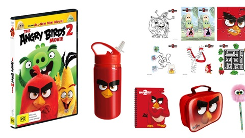 K-ZONE JAN'20 ANGRY BIRDS MOVIE 2 DVD & MERCH PACK GIVEAWAY