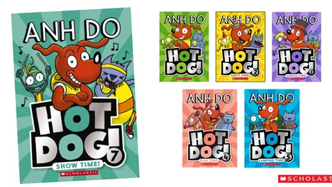 K-ZONE JAN'20 HOT DOG BOOK PACK GIVEAWAY