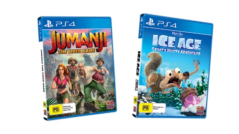 K-ZONE FEB'20 JUMANJI: THE VIDEO GAME AND ICE AGE: SCRAT'S NUTTY ADVENTURE FOR PS4 PACK GIVEAWAY